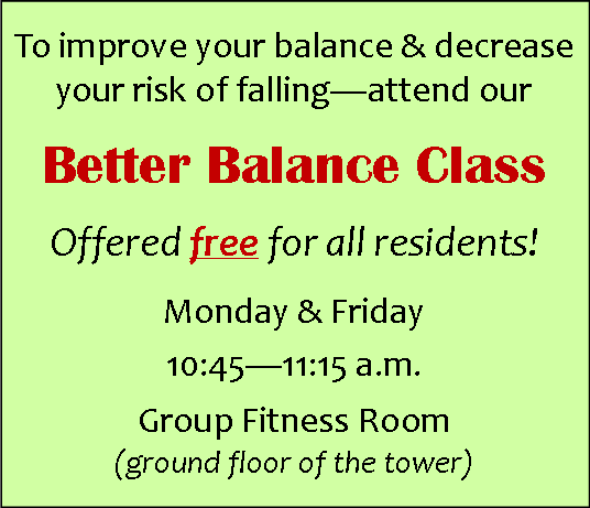 balance and wellness