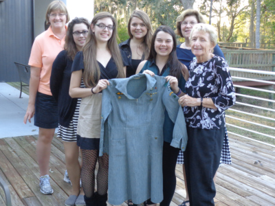 Ann Brackett Donates her Girl Scout uniform