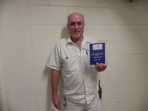 Jim Oates is Plymouth Harbor's Employee of the Month for April!